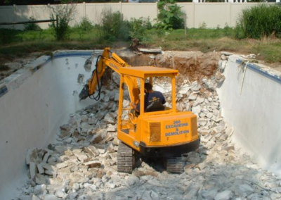 Pool Demolition - Palazzolo Concrete Removal