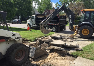 Driveway Removal - Parking Lot Removal